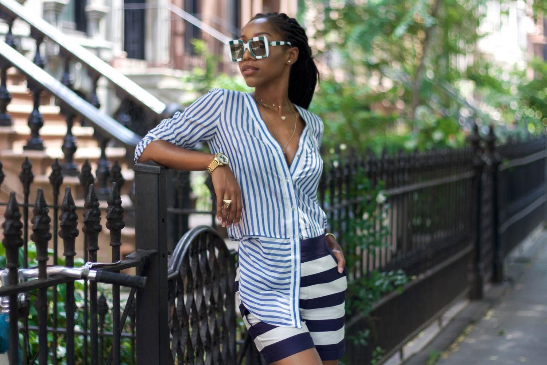 Sunday Stripes For Brunch At Sisters BK