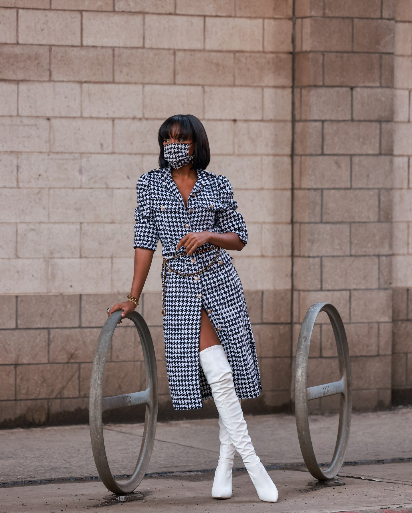 Houndstooth Trenching